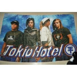 LOT de 2 DRAPEAUX 140x90cm TOKIO HOTEL