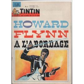 Tintin N� 853 : Howard Flynn � L'abordage