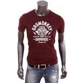 T-Shirt Uraeus Moteur Custom Gasmonkey Texas Gas Monkey Garage