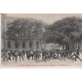 Alexandrie : Coll�ge Saint Fran�ois Xavier (J�suites) -Grande Cour- 1910