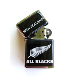 Briquet Design All Black New Zealand Rugby