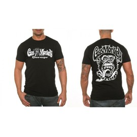 T-Shirt Uraeus Recto Verso Gasmonkey Gas Monkey Garage