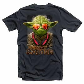 T-Shirt Star Wars Dj Deejay Master Yoda
