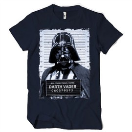 T-Shirt Dark Vador Police Picture Star Wars