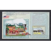 Tr6 - Congo 2006 - Bloc Feuillet Neuf ** Mnh - Les Trains Antiques Am�ricains - New York Central N� 999 4-4-0 1893