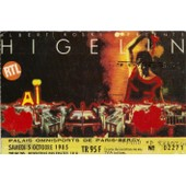 Ticket Billet Place Concert Used Jacques Higelin 1985 Paris Bercy