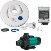 Espa - Kit Pompe 44m3/H + Facade + Coffret �lectrique Pour Nage � Contre Courant Ncr2 Wiper3 300 Mono