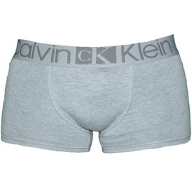 Calvin Klein - Boxer - Homme - Taille Basse - U8524a - Gris Chin�