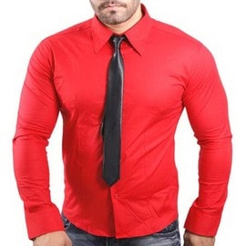 Chemise Cintr� 12 Couleurs Homme Manches Longues Ck07 T Shirt Polo Pull Slim Fit