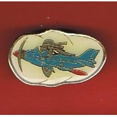 Pin's Avion Vieux Coucou Ac Aeroclub Chateauroux Ref 511