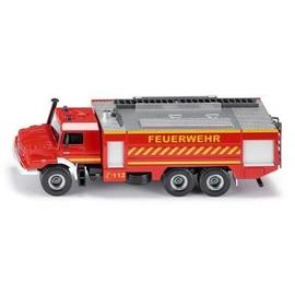 Mod�le R�duit En M�tal : Camion De Pompiers Mercedes-Benz Zetros