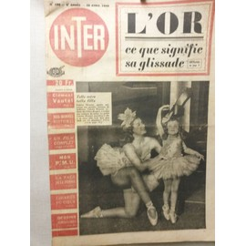 Inter 186 (Or, Colette Fleuriot, Danse, Viviane Romance, Carcamousse