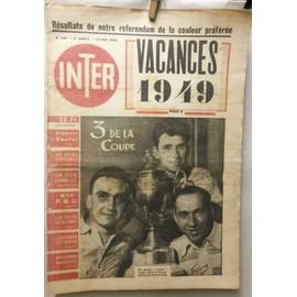 Inter 188 (Racing Club Paris, Foot Ball)