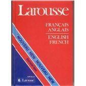 Larousse Francais Anglais de xX