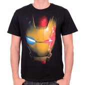 Tshirt Homme Avengers - Iron Man Ultron Virus - Legend Icon