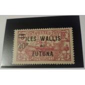 Timbre De Wallis Et Futuna N� Yt 39 Tb