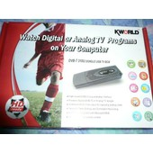 KWorld PVR-TV 300U Dongle USB2.0 TV Box - Adaptateur d'entr�e vid�o / tuner TV