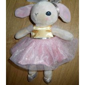 Doudou Lapin Rose H&m Rose Tutu Danseuse Princesse Peluche H Et M Peluche Jouet Enfant
