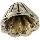 Coupelle M�tal Conique � 8 Mm - Argent� - Megacrea