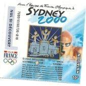 Ticket Sydney 2000 La Fran�aise Des Jeux