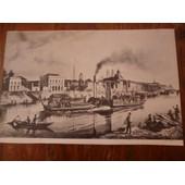 Reproduction De Gravure : Orleans En 1840 Par Pens�e.