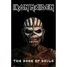 Iron Maiden Poster - The Book Of Souls (91x61 cm)