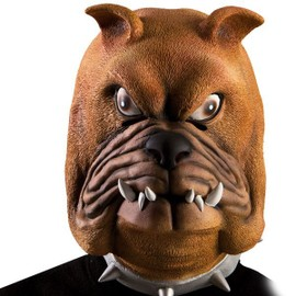 Masque De Bulldog Chien Adulte - D�guisement Carnaval Latex - 548