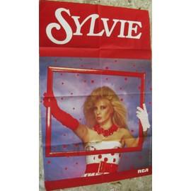SYLVIE VARTAN GRANDE AFFICHE PALAIS DES CONGRES 83