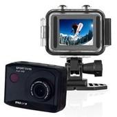 Caméra sport Full HD - Inclus: caisson étanche + bandeau tete + fixation guidon + fixation casque ventilée + bracelet pour téléc