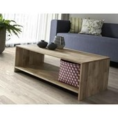 Factory Table Basse 100 Cm Chene Massif