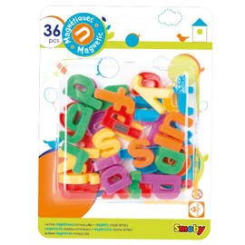 Smoby 36 Lettres Magn�tiques Minuscules