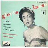 N�8 : Bambino - Amour Perdu - Le Torrent - Me Voy Pal Pueblo - Gloria Lasso