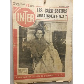 Inter 167 : Yves Montand, Charles D'edimbourg, Leni Riefenstahl, Voiture Losange