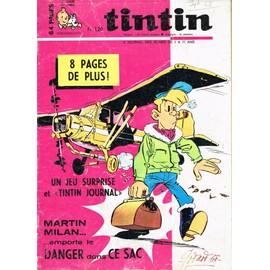 Journal De Tintin N� 1036 : Martin Milan Collectif 1036
