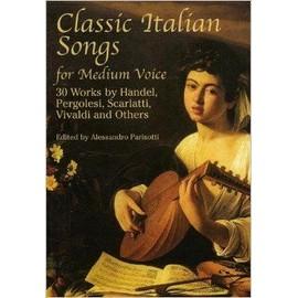 classic italian songs for medium voice