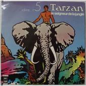 Tarzan ( Volume 5 ) : Le Seigneur De La Jungle - Pierre Tchernia & Claude Dasset & Vicky Messica & Lawrence Riesner & Jacques Hilling - R�alisation : Henri Gurel - Musique : G�rard Calvi & Fran�ois Rauber
