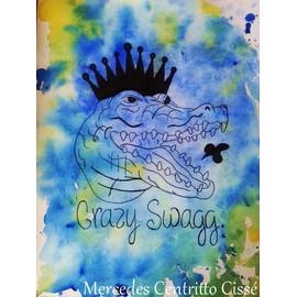 Animal du 21 me si cle page 4 achat vente neuf d for Peinture crocodile