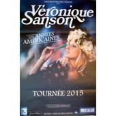 Affiche Officielle Concert Veronique Sanson 80 X 120 Cm