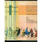 L'histoire Sainte Pour Garcons Et Filles En Coffret De 6 Tomes - 1 + 2 + 3 + 4 + 5 + 6. de COLLECTIF