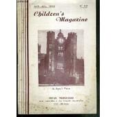 Children's Magazine - N�33 - Juin-Juil. 1952 - Texte Exclusivement En Anglais. de PICHON CLAUDE / COLLECTIF