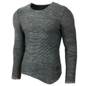 Subliminal Mode Pull Over Homme Tricot Sb-15031 Grosse Maille