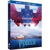 Pixels - Combo Blu-Ray 3d + Blu-Ray 2d + Digital Hd de Chris Columbus