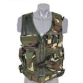 Gilet Tactique Camouflage Avec Ceinture Fidragon