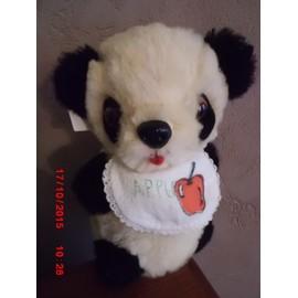 Doudou Pouet Pouet Panda Pure Wool