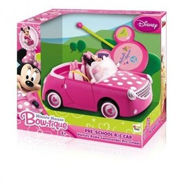 Imc Toys Voiture Radio-Command� Minnie Maison De Mickey Rc Convertible