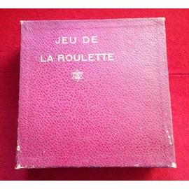 Jeu De La Roulette Jlr Jeux R�unis Ann�e 1920