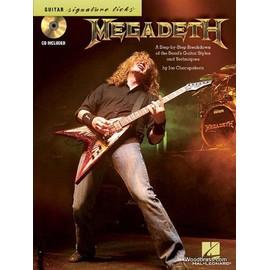 Megadeth Guitar Signature Licks Book/CD