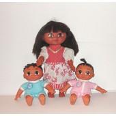 Dora L'exploratrice Poup�e Articul�e 30cm + Les Jumeaux Freres Et Soeurs Poup�es 24cm Mattel Viacom