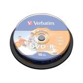 Verbatim - 10 x DVD-R (8cm) 4x