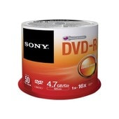 Sony DMR 47SP - 50 x DVD-R